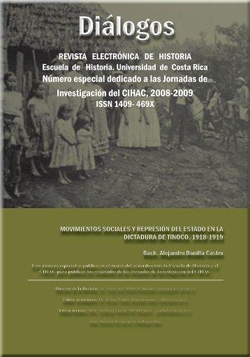 Diálogos - Escuela de Historia - Universidad de Costa Rica