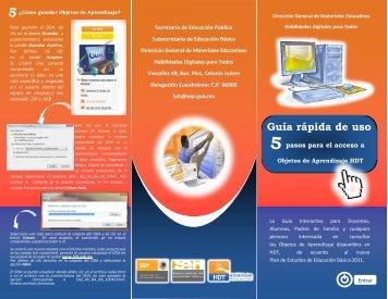 Guía rápida de uso - HDT Portal Federal