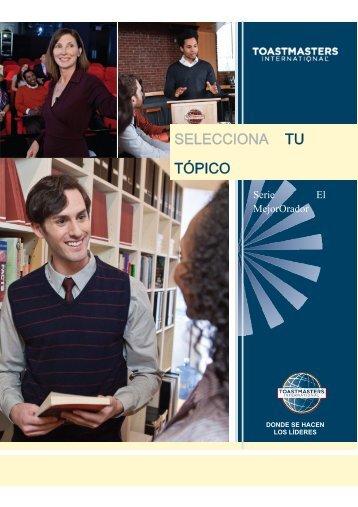 Seleccionando tu tema / Archivo PDF - Toastmasters International ...