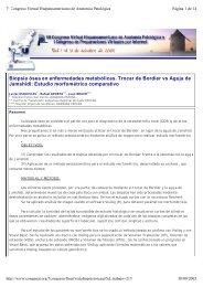 Biopsia ósea en enfermedades metabólicas. Trocar de Bordier vs ...