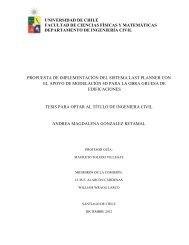 universidad de chile facultad de ciencias físicas y matemáticas ...