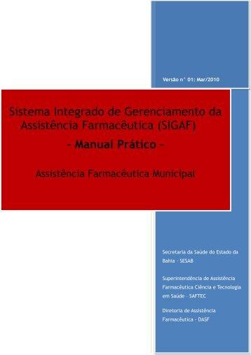 Sistema Integrado de Gerenciamento da Assistência ... - Sesab