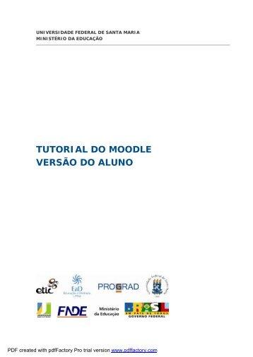 TUTORIAL DO ALUNO - UFSM