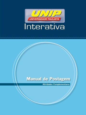 Manual de Postagem - unip-objetivo