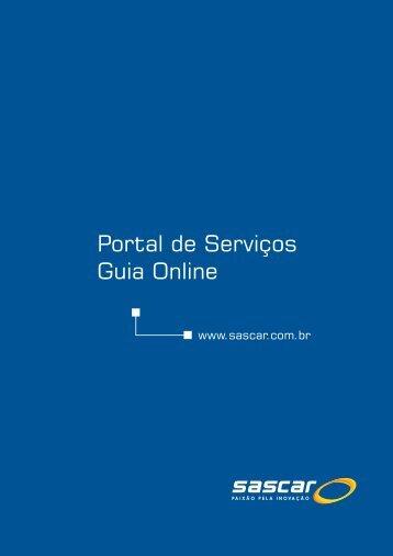 Portal de Serviços Guia Online - Sascar