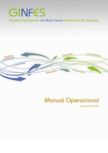 Manual versão 2.3 - Prefeitura Municipal de São José dos Campos