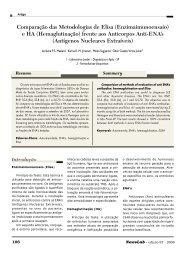 Comparação das Metodologias de Elisa ... - NewsLab