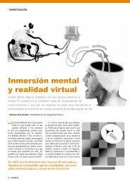 Inmersión mental y realidad virtual