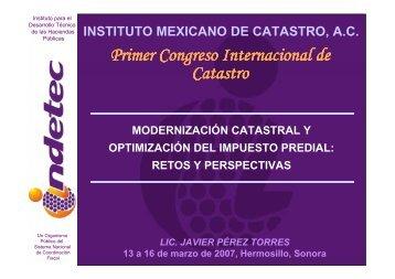 Modernización Catastral y Optimización del Impuesto Predial