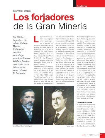 CHIAPPONI Y BRADEN - Minería Chilena