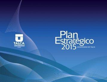 Ver Plan EstratÉgico - Universidad de Talca