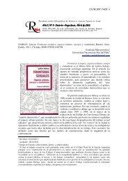 Fronteras sexuales - Año 5 número 8 - Centro de Estudios Espacio ...