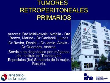 tumores retroperitoneales primarios - Congreso SORDIC