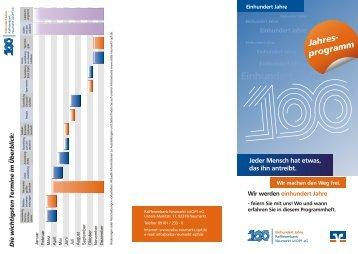Einhundert Jahre - Raiffeisenbank Neumarkt i. d. OPf. eG