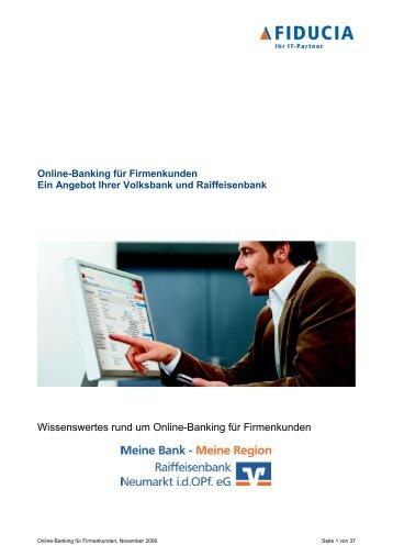 Wissenswertes rund um Online-Banking für Firmenkunden