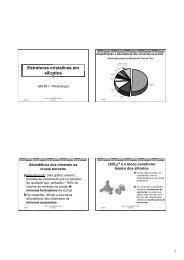 Estruturas de orto e sorossilicatos