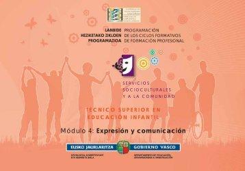 Expresión y comunicación - instituto vasco de las cualificaciones