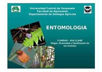 ENTOMOLOGIA - Universidad Central de Venezuela