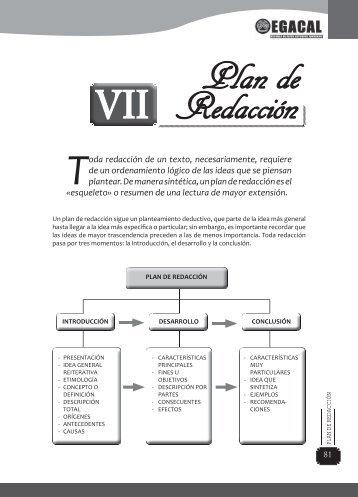 Plan de Redacción - EGACAL