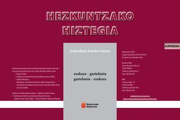 Diccionario en pdf - Navarra