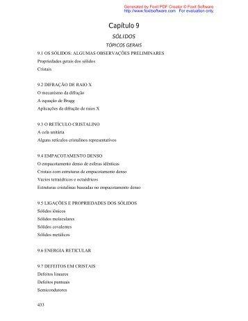 Capítulo 9 - Química na Net