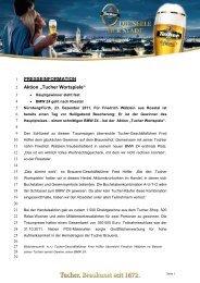 Tucher Wortspiele - Radeberger Gruppe KG