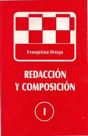 Redacción y composición - Editorial Universitaria