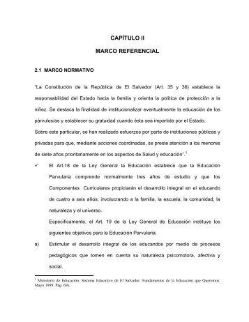 CAPÍTULO II MARCO REFERENCIAL - Universidad de Oriente