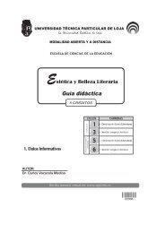 ESTETICA Y BELLEZA LITERARIA - Universidad Técnica Particular ...