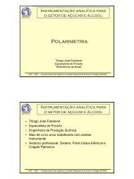 Polarimetria - Conselho Regional de Química
