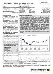 Information - Raiffeisenlandesbank Niederösterreich-Wien
