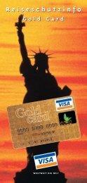 Visa Gold Reiseschutz (pdf)