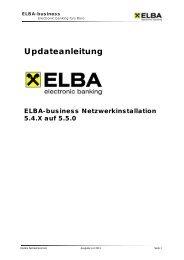 Updateanleitung 550 Netzwerk - Raiffeisen