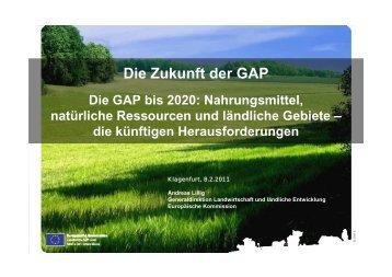 Rahmenbedingungen Schwerpunkte Chancen - Raiffeisen