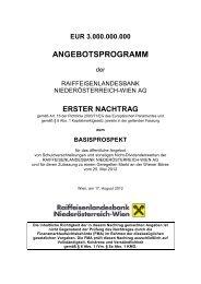 1. Nachtrag vom 17.8.2012 - Raiffeisenlandesbank Niederösterreich ...