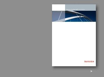 Rapporto di gestione 2005 Unione Raiffeisen