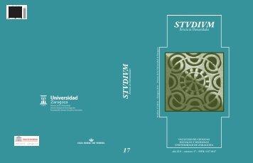 Número completo. Nº 17 - STVDIVM - Revista de Humanidades ...