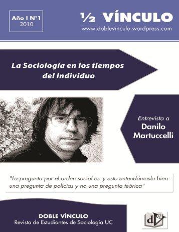 La sociología en los tiempos del individuo - DOBLE VINCULO