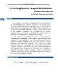 La sociología en los tiempos del individuo - DOBLE VINCULO - Page 3