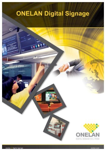ONELAN Digital Signage - RPS Audiovisuales