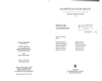 TEMAS DE CONTRATOS - Universidad Diego Portales