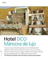 Hotel DCO Máncora de lujo - DCO Suites, Lounge & Spa