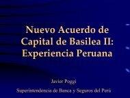 Nuevo Acuerdo de Capital de Basilea II: Experiencia ... - Sbs.gob.pe