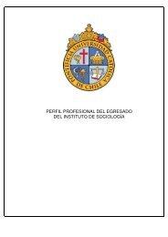 Perfil del Egresado - uc.cl - Pontificia Universidad Católica de Chile