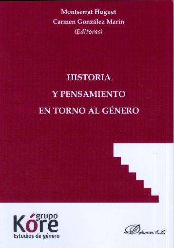 Historia y pensamiento en torno al género - E-Archivo - Universidad ...