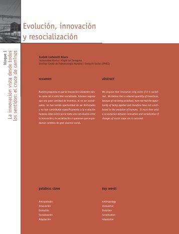 Evolución, innovación y resocialización - Madri+d