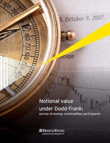 Notional value under Dodd-Frank: