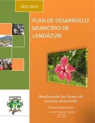 PLAN DE DESARROLLO MUNICIPIO DE LANDÁZURI
