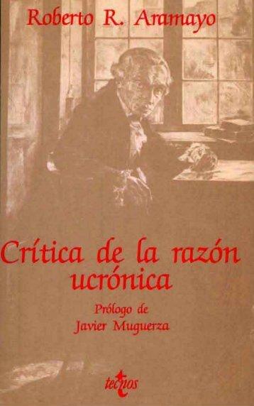 Crítica de la razón ucrónica