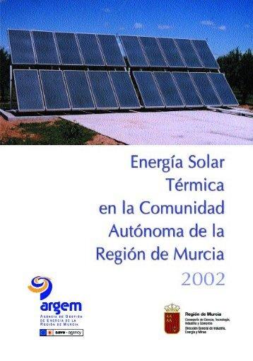 Energia termica en Murcia - Lasenergiasrenovables.com